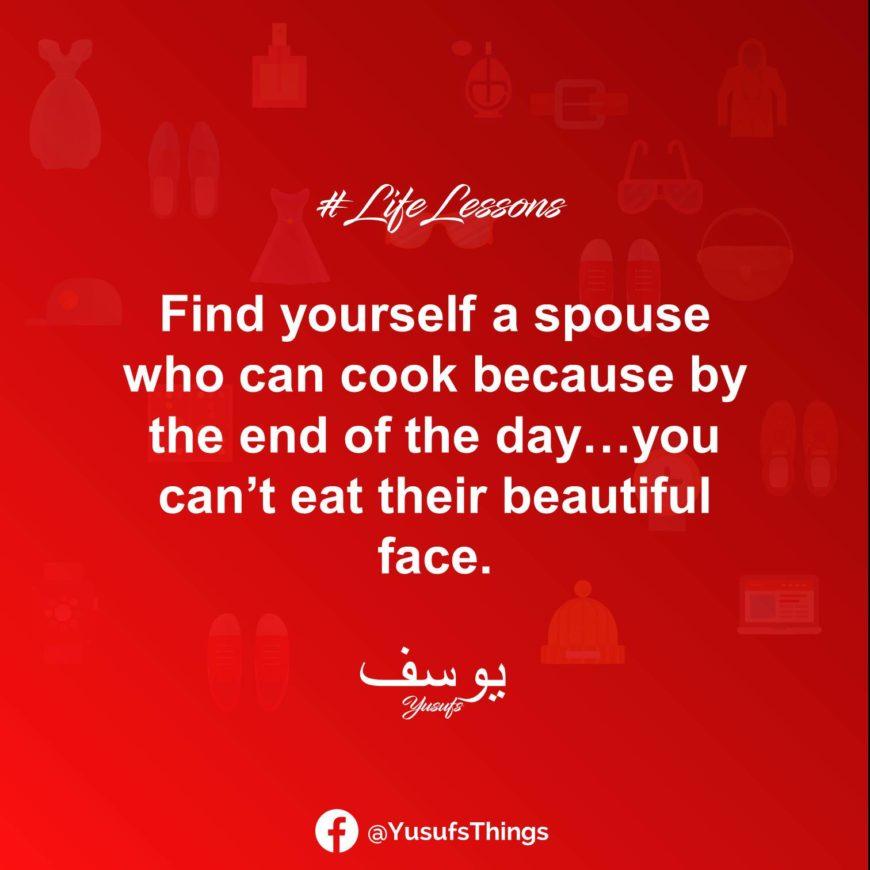 Yusufs Life Lessons