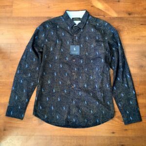 Polo Ralph Lauren Navy Blue Shirt