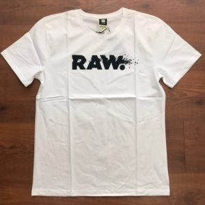 G-Star RAW White Round-neck t-shirt
