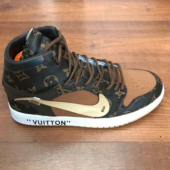 953749d84fe Louis Vuitton OFF-WHITE Nike Air Jordan 1 sneakers