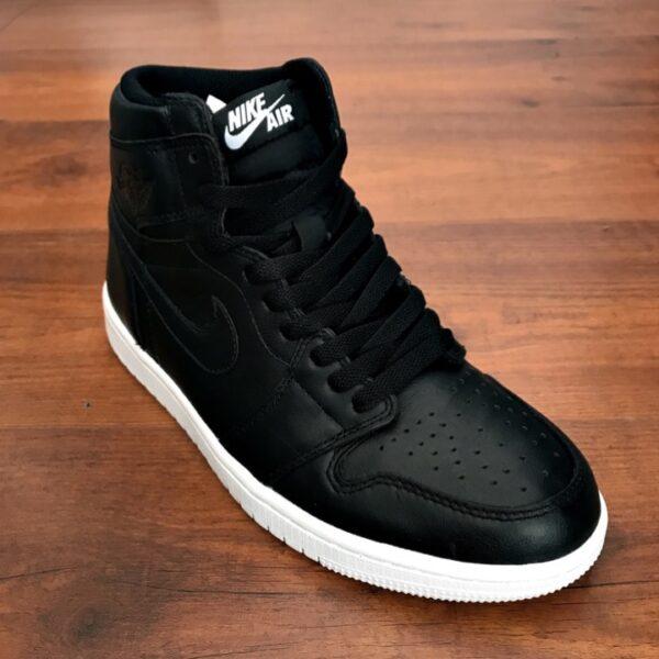 Nike Air Jordan 1 Black White - DOT Made 00cdf0ed90e5