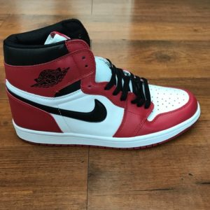 "Air Jordan 1 retro high og ""chicago"" red white black"