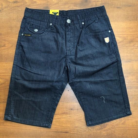 G-STAR RAW 3301 Navy Blue Denim Jeans shorts