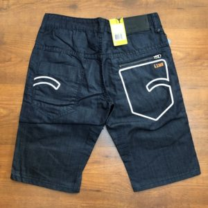 G-STAR RAW 3301 Navy Blue Denim Jeans shorts