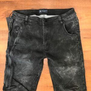 Roberto Botticelli Black denim jeans stretch