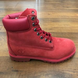 Timberland 6-inch mono-red boots