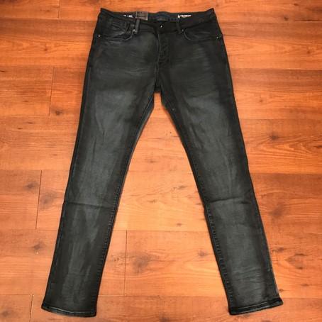 G-STAR RAW ARC SLIM Indigo dyed blue denim stretch jeans