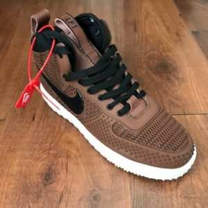 Nike Air Lunar Force 1 Full rubber chocolate brown