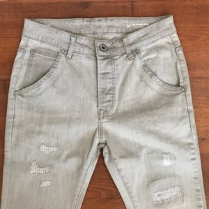 G-STAR RAW 3D ARC SLIM light grey denim jeans